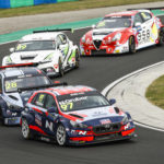 97 Nico GRUBER (aut), Engstler Hyundai N Liqui Moly Racing Team, Hyundai i30 N TCR, action and 28 SAPAG Jose Manuel (arg), Target Competition srl, Hyundai i30 N TCR, action during the 2020 FIA WTCR Race of Hungary, 4th round of the 2020 FIA World Touring Car Cup, on the Hungaroring, from October 16 to 18, 2020 in Mogyoród, near Budapest, Hungary - Photo Xavi Bonilla / DPPI