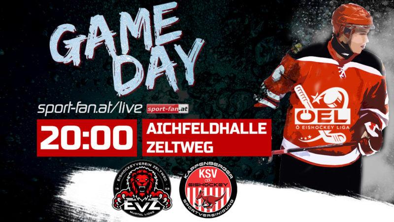 Live EV ZELTWEG vs. KSV EISHOCKEY