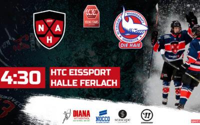 ICE Young Stars League live – HTC-Nordic Hockey Academy – HC Tiroler Wasserkraft Innsbruck