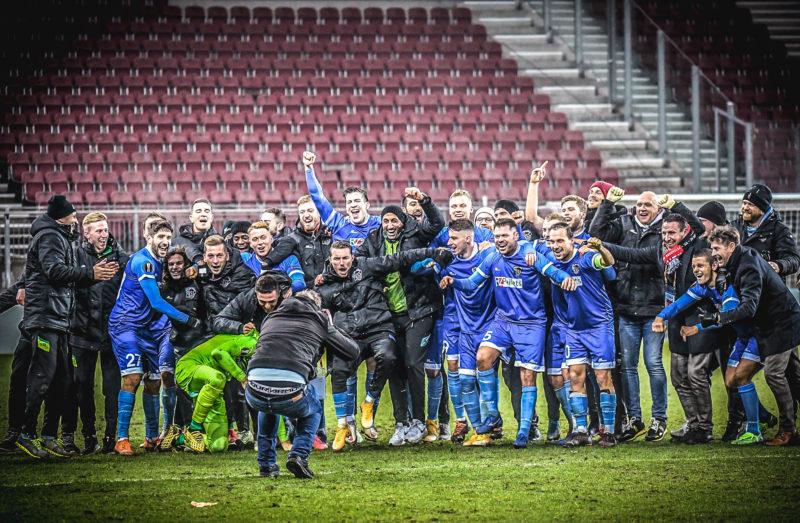 WAC schafft mit Riegler Aufstieg in der Euro League. Foto: Gerhard Pulsinger