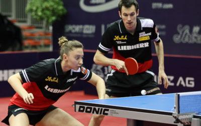 TischtennisOlympiaticket für Sofia Polcanova Stefan Fegerl