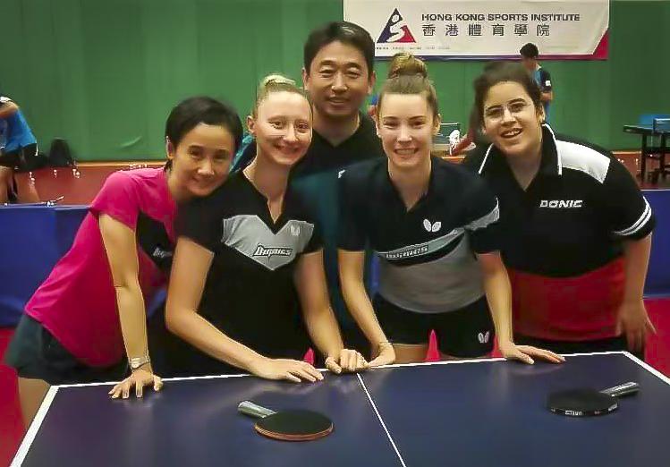 Liu Jia, Sofia Polcanova , Zhang Jie , Karoline Mischek, Amelie Solja