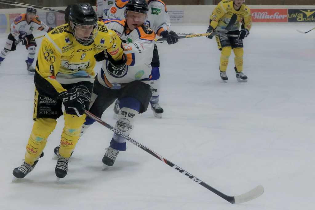 Eishockey, KEHV AHC Division 1, EC LiWOdruck Spittal Hornets - EC Oilers Salzburg at Eis Sport Arena, Spittal on 14 December  2019. Photo: Ernst Krawagner