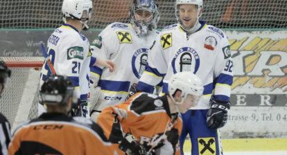 Eishockey, KEHV AHC Division 1, USC Pirates Velden - UECR Huben at Eishalle, Velden on 06 January 2020. Photo: Ernst Krawagner