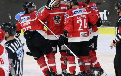 Nationalteam HerrenStarke Leistung gegen die Slowakei