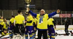 Finale 3 - Eishockey AHC Division 1, 1.EHC Althofen - ESC Steindorf at Stadthalle, Althofen on 07 March  2020. Photo: Ernst Krawagner