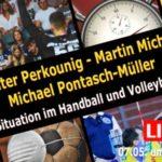 Handball und Volleyball in der Coronakrise