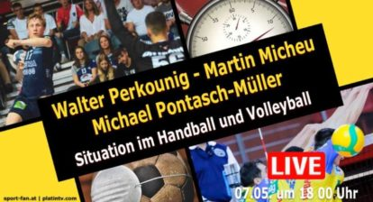 Handball und Volleyball in der Coronakrise