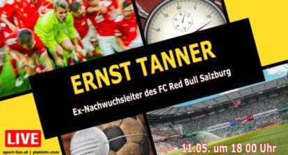 Ernst Tanner Ex-Nachwuchsleiter des FC Red Bull Salzburg