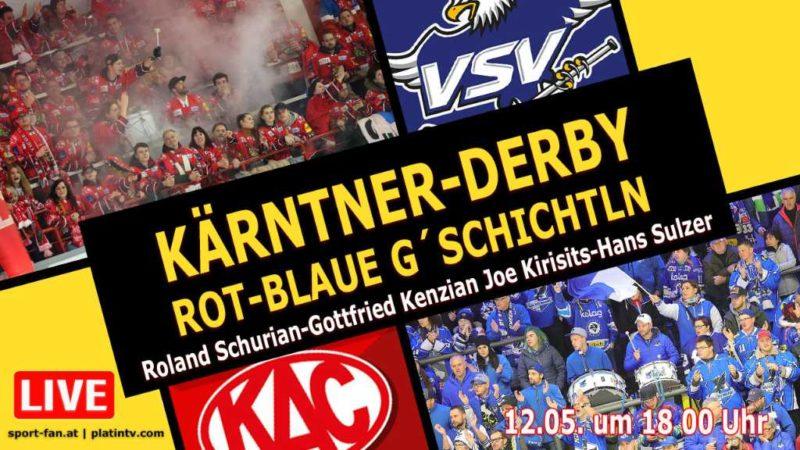 Derbytalk KAC gegen VSV