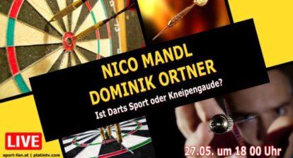 Darts - Nico Mandl und Dominik Ortner