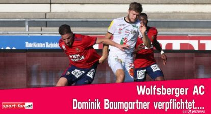 Dominik Baumgartner von Bochum vom WAC verpflichtet