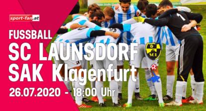 SC Launsdorf gegen SAK im KFV Fußball Cup