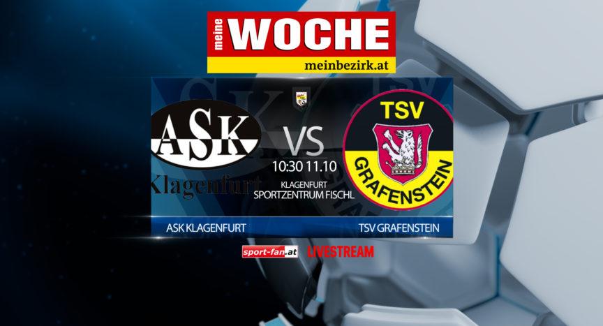 Fussball Livestream Schlagerspiel ASK Klagenfurt - TSV Grafenstein