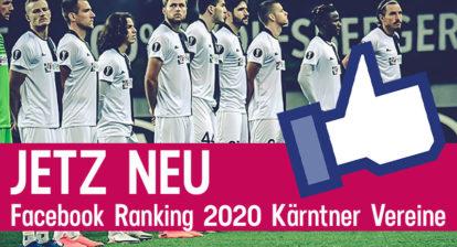 Facebook Ranking Kärntner Vereine 2020
