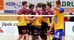 SK Zadruga Aich/Dob gegen VK Dukla Liberec (CZE). Volleyball. CEV Cup. Bleiburg, am 18.11.2020. Foto: Kuess www.qspictures.net