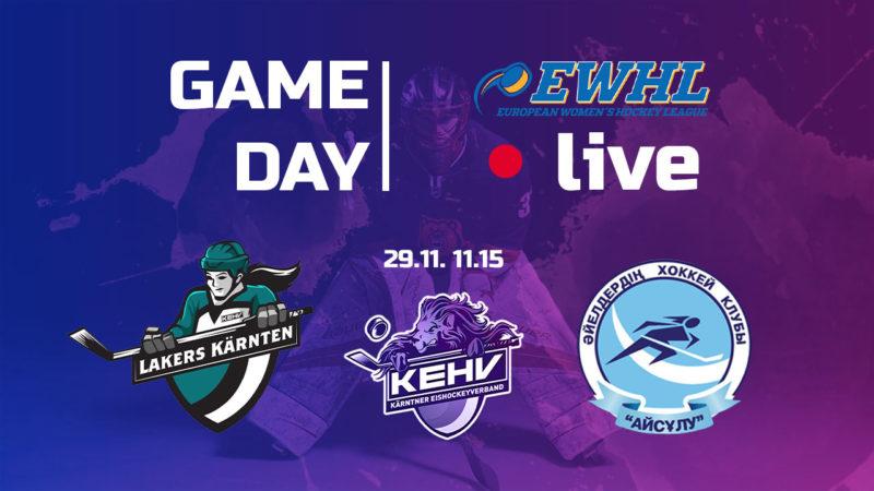 Eishockey live Lakers-Almaty
