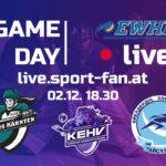 Eishockey live aus Villach - Lakers Kärnten - Almaty