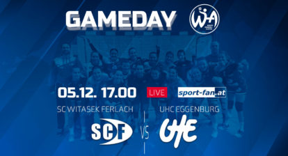 Handball live aus Ferlach | SC Ferlach gegen UHC Eggenburg ab 17.00h