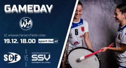 Handball live aus Ferlach   SC witasek Ferlach/Feldkirchen gegen Dornbirn Schoren ab 18.00h