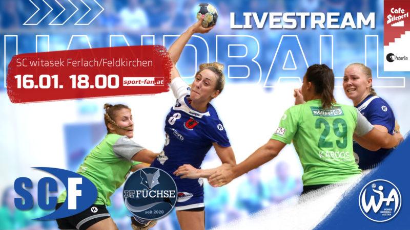 Handball live aus Ferlach | SC Ferlach/Feldkirchen gegen BT Füchse Powersports