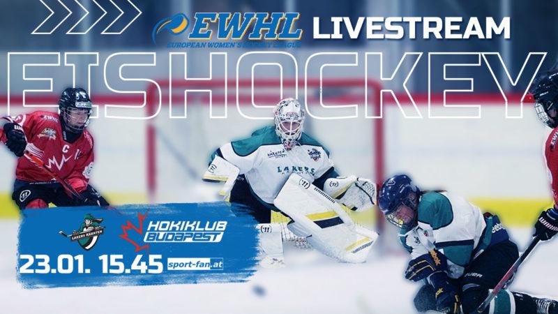 Eishockey live aus Villach| LAKERS Kärnten gegen KMH Budapest ab 15.45h