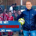 Klaus Mitterdorfer im Sport Fan Livetalk am Dienstag