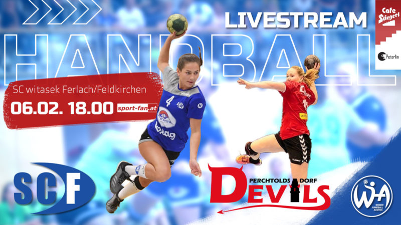 Handball live | WHA SC Ferlach – Perchtoldsdorf Devils 06.02.2021