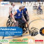 Rollstuhlbasketball live | Carinthian Broncos RBB FlinkStones Graz Sitting Bulls