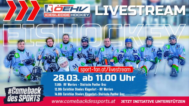 LivestreamPara Hockey Finalturnier aus Gmunden