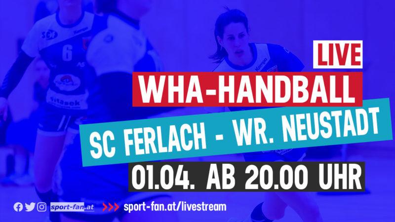 LivestreamHandball SC Ferlach – Wr. Neustadt