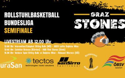 LivestreamRollstuhlbasketball Semifinale aus Graz