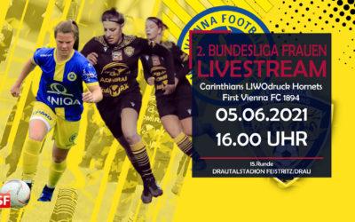 Damen Bundesliga liveCarinthians Hornets gegen First Vienna FC 1894