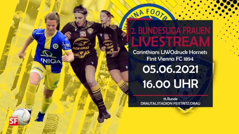 Carinthians gegen First Vienna FC Livestream 2021
