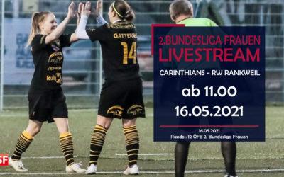 Damen Bundesliga liveCarinthians Hornets gegen RW Rankweil