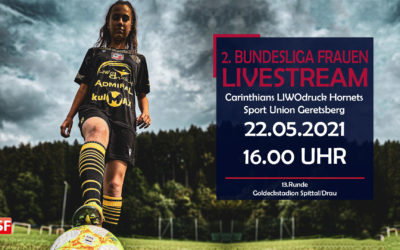 Damen Bundesliga liveCarinthians Hornets gegen Geretsberg