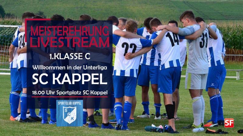 SC Kappel Meisterehrung Livestream