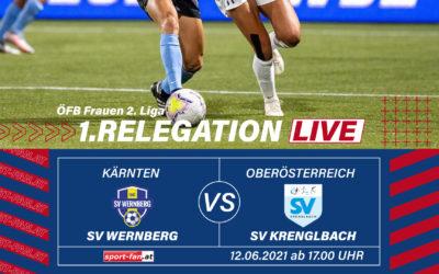 RelegationLive: Relegation SV Wernberg gegen SV Krenglbach