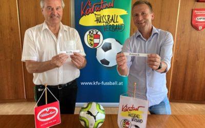 AuslosungVillacher Bier KFV Cup 2. Runde
