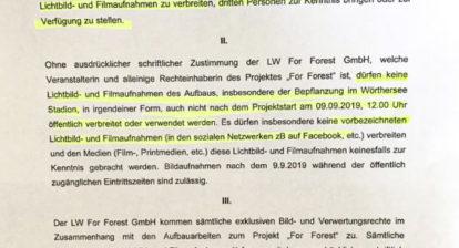 ForForest Dienstanweisung