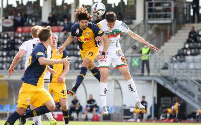 Starke LeistungStartelfdebüt von Tarik Muharemovic beim 1:1 in Salzburg
