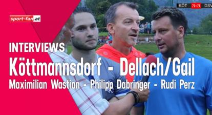 Fußball live Interview Köttmannsdorf Dellach Gail