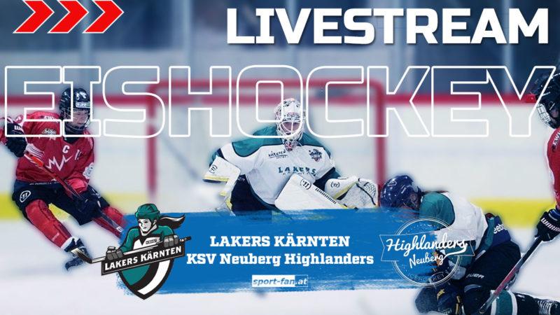Eishockey liveLakers Kärnten – KSV Neuberg Highlanders