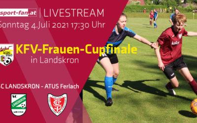 KFV-Frauen-CupfinaleSC Landskron gegen ATUS Ferlach im Livestream