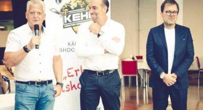 Dr. Klaus Hartmann holt Mittendorfer vom hohen Ross