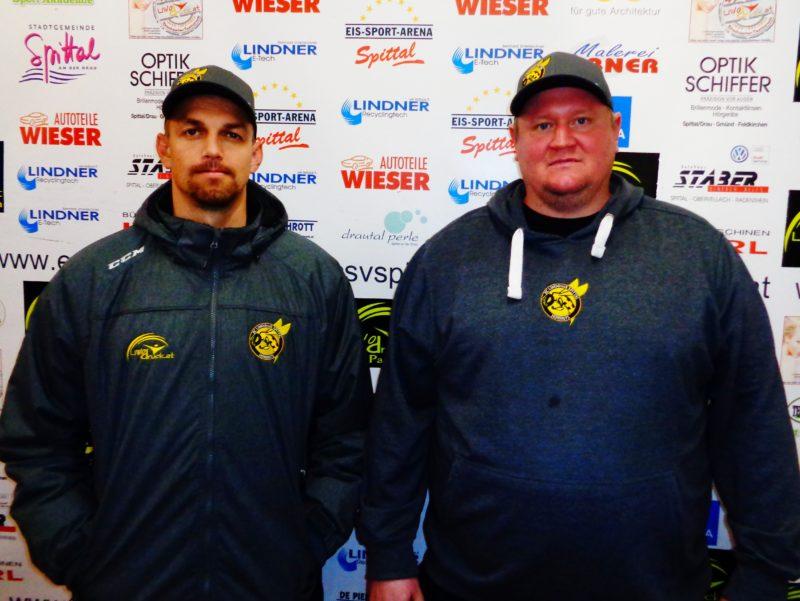 Florian Orzetek und Co-TrainerPhillip Lonin