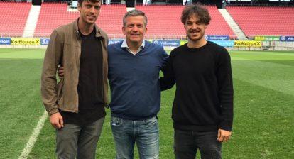 Herbert Paul, Manager Imhof und Simon Straudi