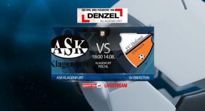 Fußball Livestream - ASK Klagenfurt - Eberstein