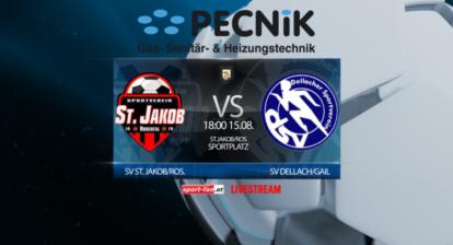 Fußball Livestream St. Jakob gegen Dellach Gail