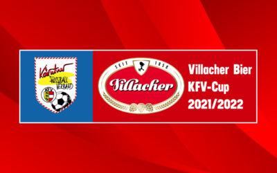 AuslosungAuslosung Villacher Bier KFV Cup 3. Runde